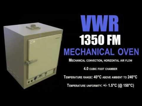 VWR 1350FM VACUUM OVEN (3734A)