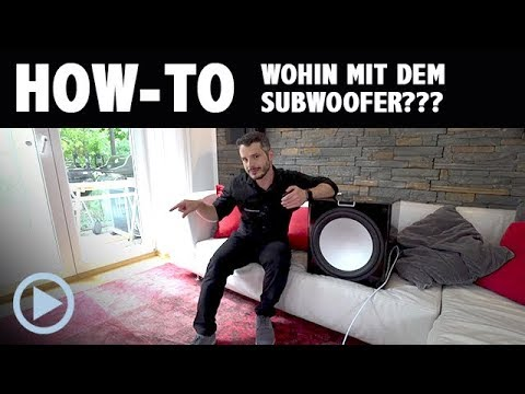How-To: Subwoofer Placement? Some Beginner Tips