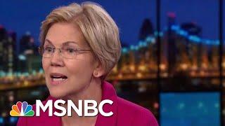NBC/WSJ Poll: Elizabeth Warren Has Edge In 'Enthusiasm' | Velshi & Ruhle | MSNBC