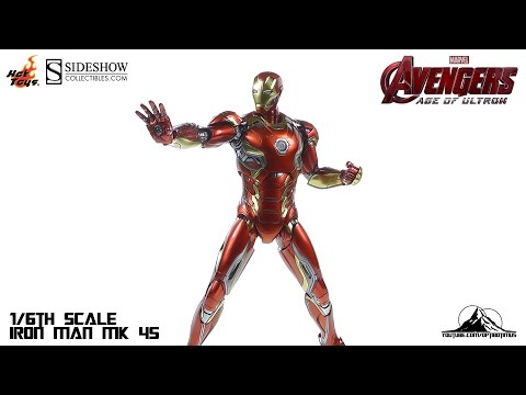Hot Toys Avengers Age of Ultron IRON MAN MK XLV (45) Video R