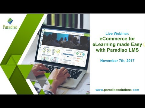 4X your SALE of online courses with Paradiso eCommerce LMS
