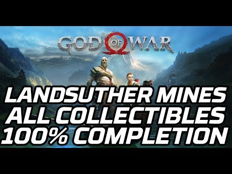 [God Of War] Landsuther Mines - All Collectibles (Deus Ex Malachite Favour, Chests, Ravens)