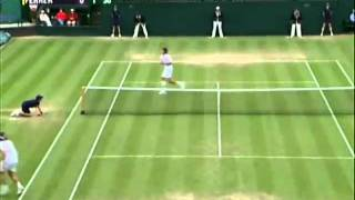 Magic on the grass-Mario Ancic!!! (PART1)
