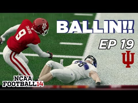 NCAA Football 14 Dynasty | Indiana Hoosiers - SMACKED IN THE MOUTH!! - Ep 19