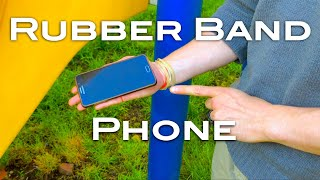 Rubber Band Phone - a rubber band magic trick from Shir Soul Magic