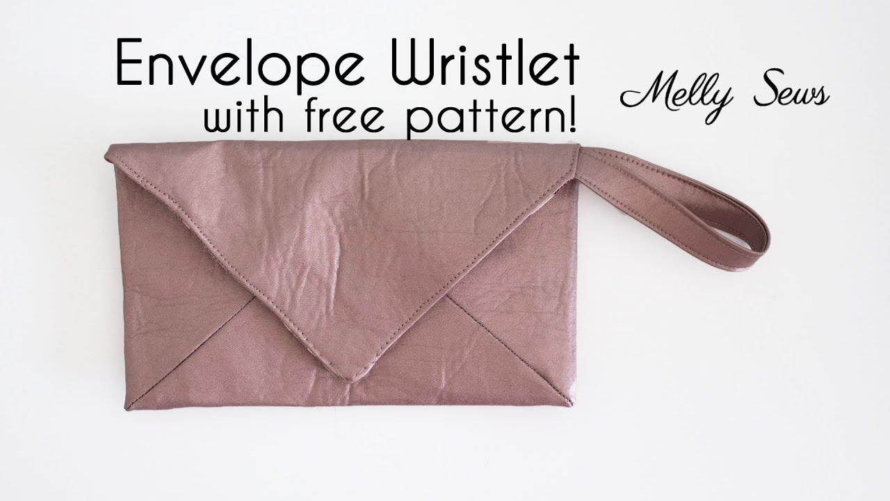 Sew a wristlet envelope clutch with free pattern youtube sew a wristlet envelope clutch with free pattern jeuxipadfo Gallery