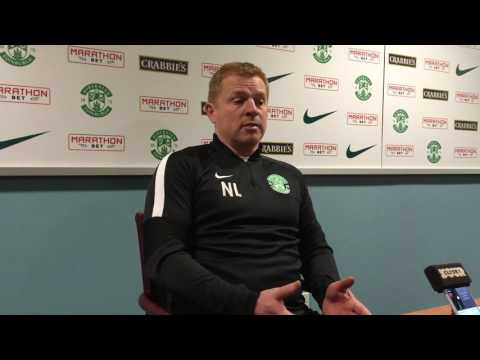 Hibs boss Neil Lennon after-match press conference following 0-0 with Morton