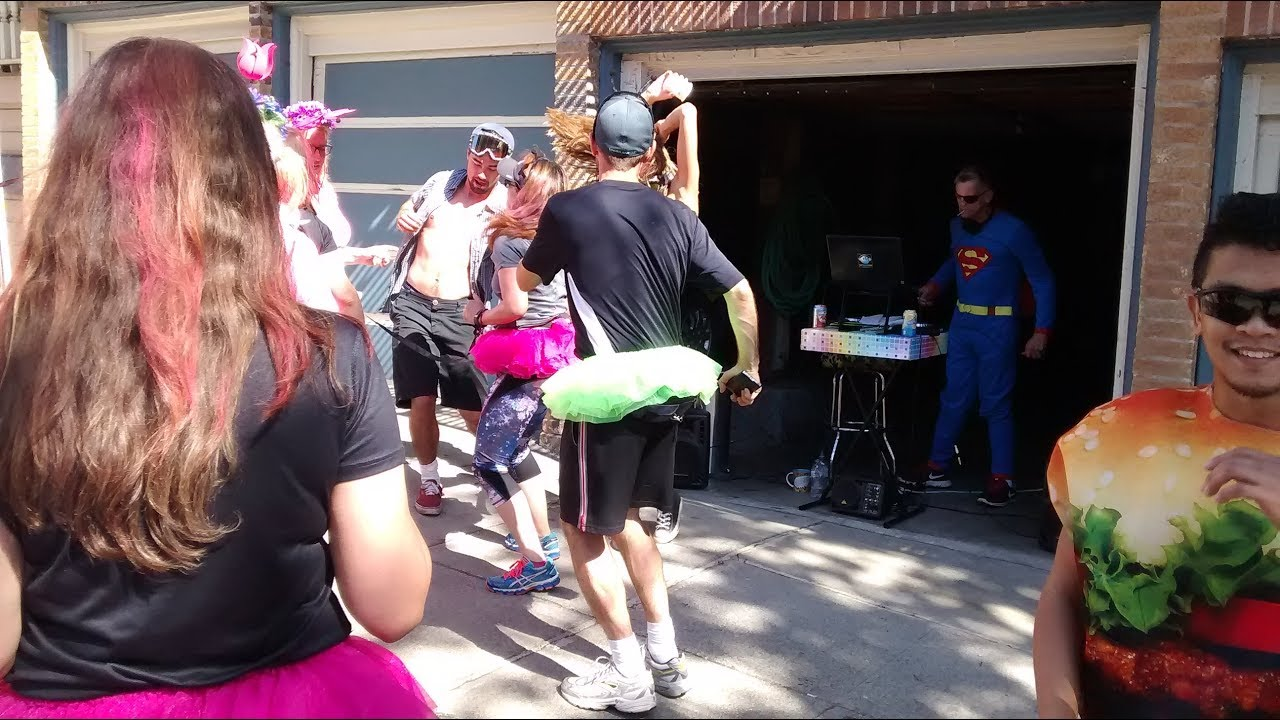 Bay to breakers live street band performance 2017 San