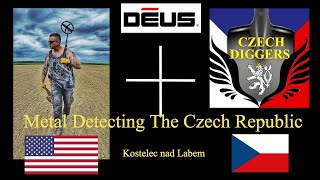 Czech Republic - Metal Detecting Czech Republic in Kostelec nad Labem Czech Diggers