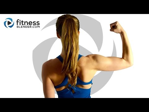 10 Minute No Equipment Upper Body Workout - Complete Upper Body Workout Without Weights