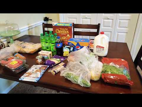 weekly-walmart-grocery-haul-&-meal-planner-|-2-new-recipes-|-spent-$70