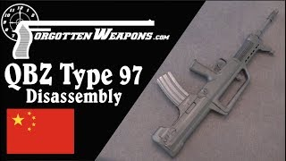 Mechanics and Disassembly of the Norinco QBZ-97 / Type 97 NSR