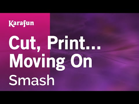 Karaoke Cut, Print... Moving On - Smash *