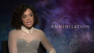 ANNIHILATION Tessa Thompson Interview