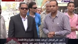 فيديو.. رئيس حي الوراق: حل أزمة الأنابيب ومعاقبة المخالفين