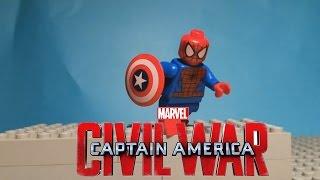 LEGO Человек-паук в Гражданской Войне