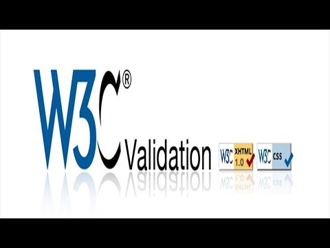 How To Validate Your Web site with W3C validator