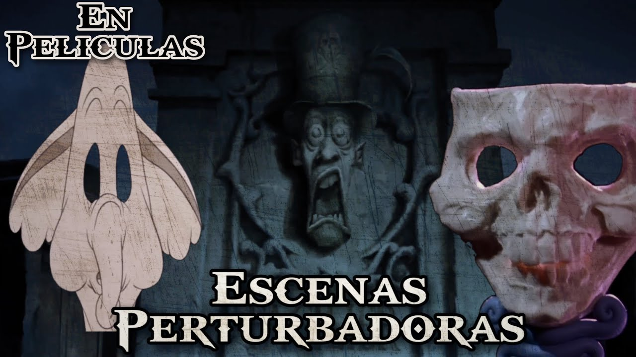 ¡TOP 6 Escenas Más PERTURBADORAS en Películas Infantiles!
