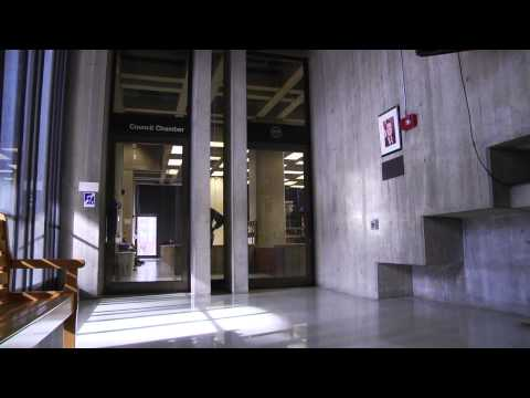 A Peek Inside Concrete City Hall