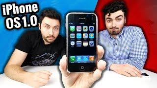 Je teste le 1er iPhone OS 1.0 : Super Rare ! (2007)