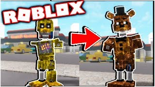 UNLOCKING ALL IGNITED ANIMATRONICS IN ROBLOX! The Beginning of Fazbear Entertainment