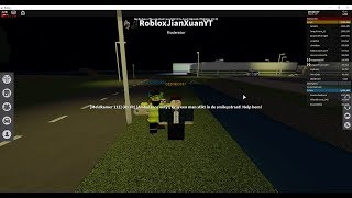 ROBLOX: Amsterdam-Noord Holland: Server iritating and arrested police angry!?
