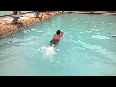 Swimming at Indian school of mines in dhanbad