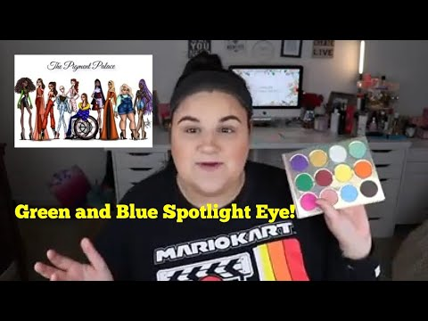 Tutorial Tuesday! Pigment Palace Modern Royalty Palette!