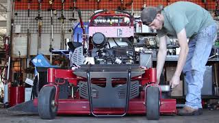 How to change Oil on a Grandstand - MainStreetMower
