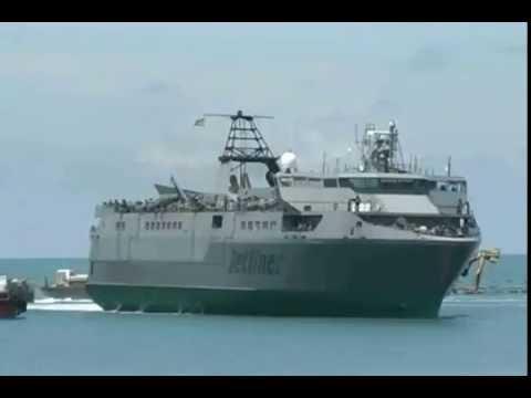SL Navy Jet Liner Troop Transfer at KKS
