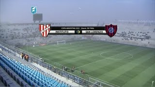 Institute vs San Lorenzo full match