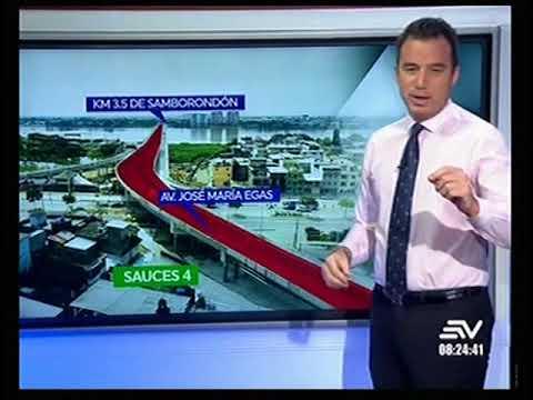 Puente Guayaquil-Samborondón se abrió al público