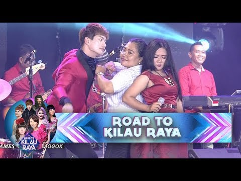 Semua Penonton Ngakak Lihat Poppy Capella, Gamma 1 Goyang Mogok - Road To Kilau Raya (21/1)(