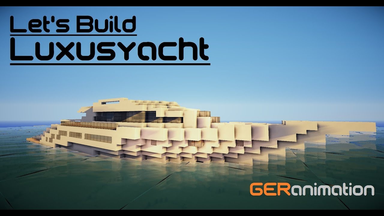 minecraft how to make a yacht