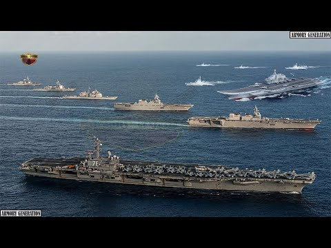 Australia joins carrier strike group, US deploys its most powerful combat group in South China Sea