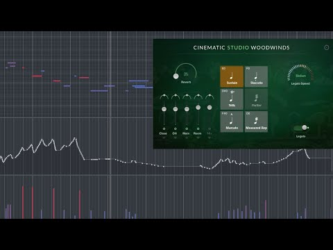 Cinematic Studio Woodwinds - Legato improvisations