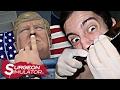 OPERANDO A DONALD TRUMP !! - Surgeon Simulator | RobleisIUTU