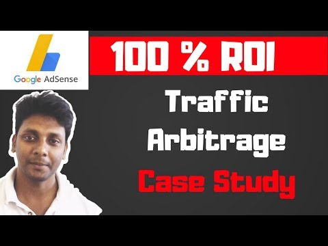 Traffic Arbitrage - Traffic Arbitrage Techniques - 100 % ROI - Make Money with Adsense