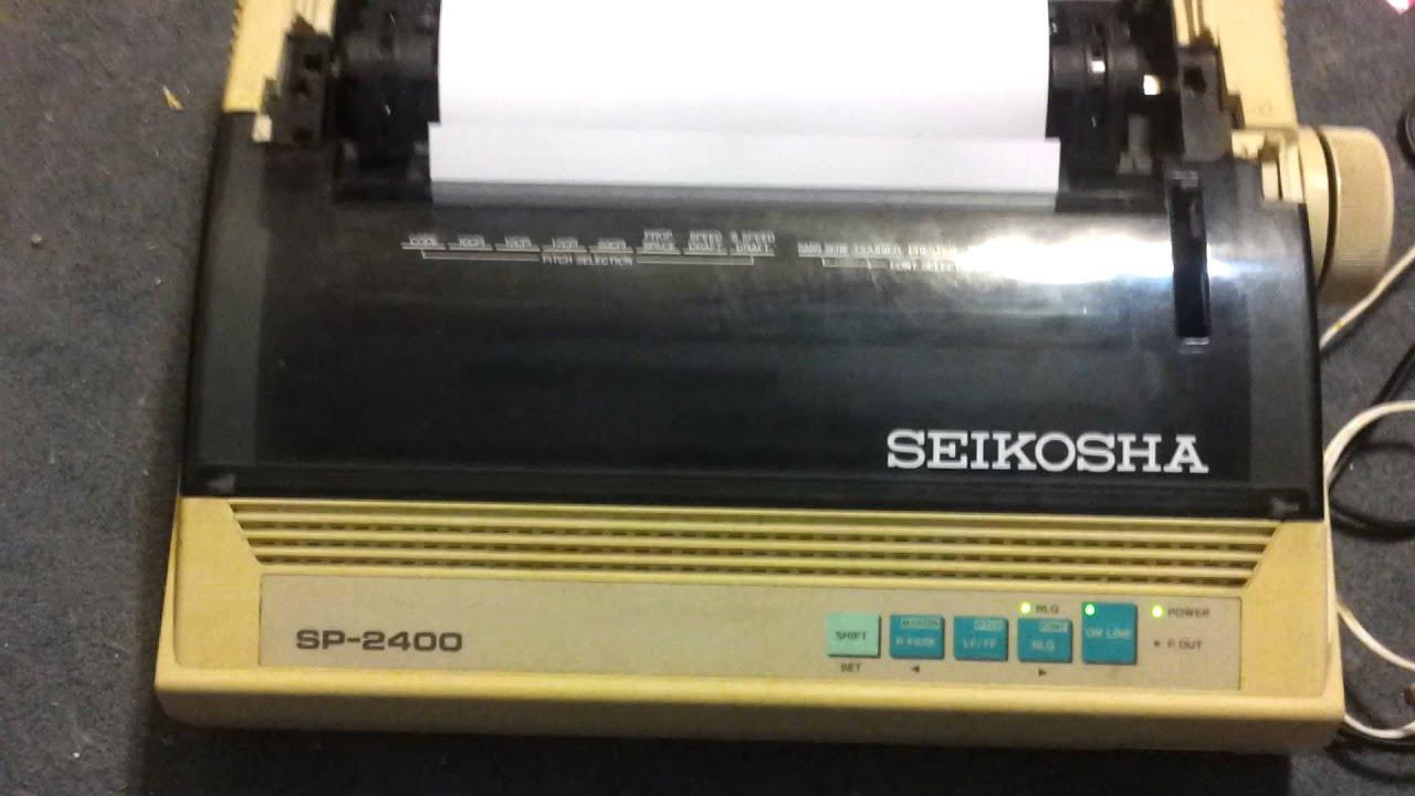Seikosha Sp 2400 Youtube