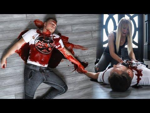 DEAD BOYFRIEND SCARE ON GIRLFRIEND!
