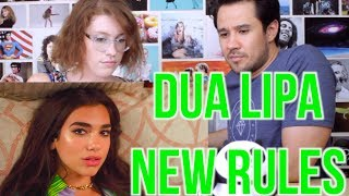DUA LIPA - NEW RULES - REACTION!! thumbnail