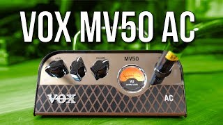 An AC30 for your pocket? How good is the MV50 AC from Vox?