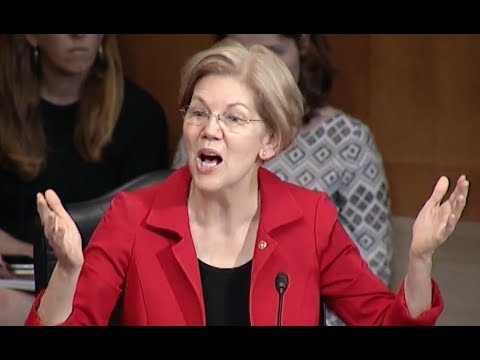 Elizabeth Warren Uses Senate Hearing to Expose Big Pharma's Corruption