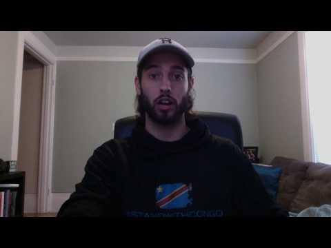 Garrett's Stand With Congo fundraiser