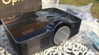 OPTOMA HD 141X DLP Projector Unboxing in Urdu