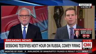 Rep. Swalwell on CNN discussing what to expect from AG Jeff Sessions' testimony