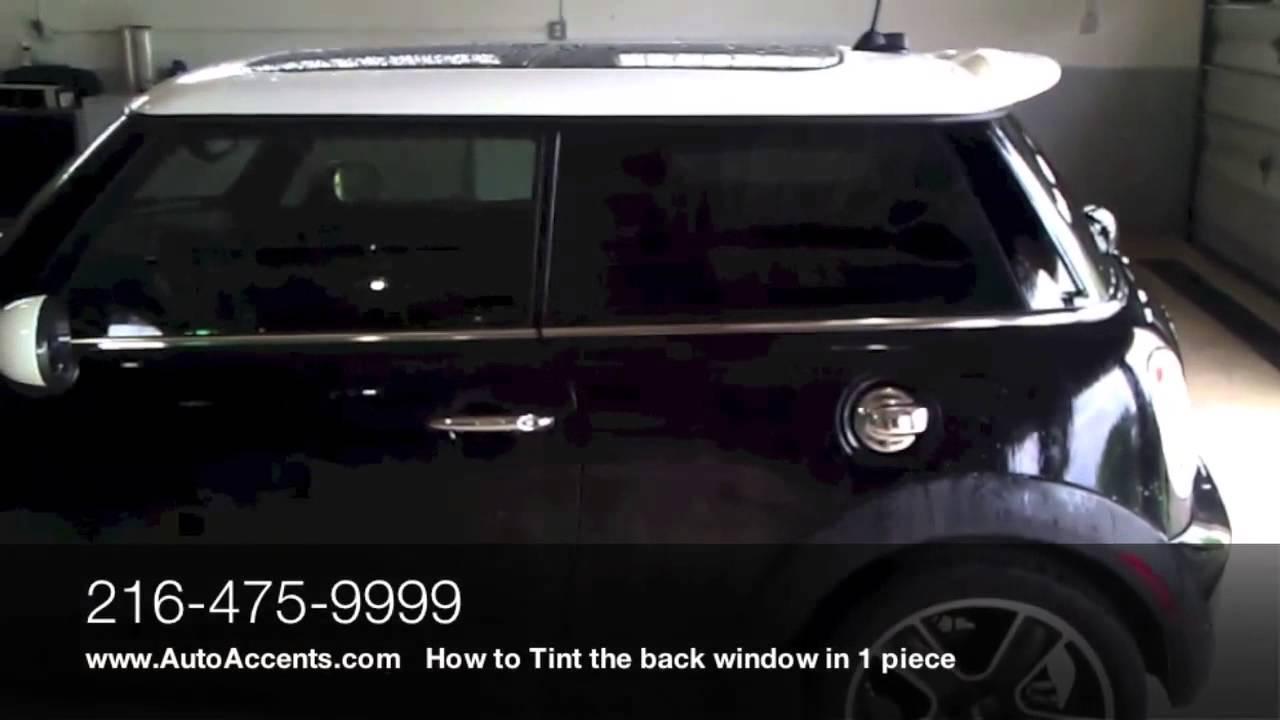 Window Tinting Tint On Mini Cooper Auto Accents Window