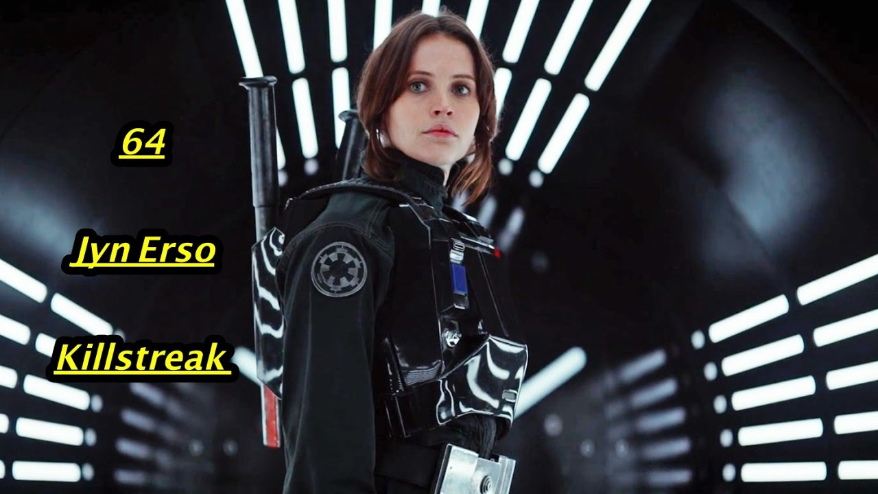 star wars battlefront 64 jyn erso killstreak youtube