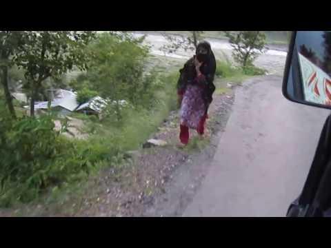 Driving through Azad Kashmir