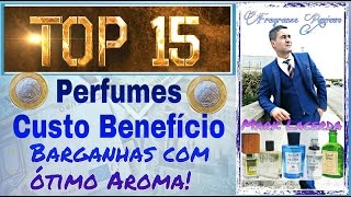 Top 15 perfumes custo/beneficio - Perfumes importados bons e baratos